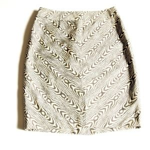 Anthropologie 9-H15 STCL Pencil Skirt Animal Print